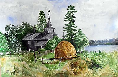 Церквушка на Урале